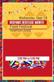 Hispanic Heritage Month Food Festival