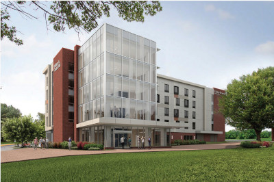 Artist rendering of Franta Hall